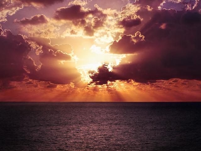 Light Pierces the Clouds